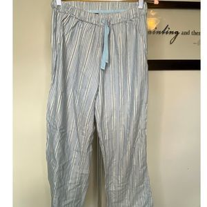Body by Victoria sleep pants sml silver blue